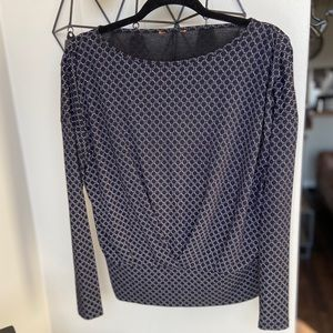 Women's Long Sleeve With Gathered Waist Detailing